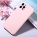 Capa iPhone 12 Pro Silicone Rosa