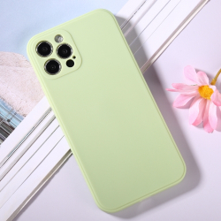 Capa iPhone 12 Pro Silicone Verde