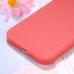 Capa iPhone 12 Pro Silicone Vermelho