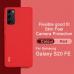 Capa Samsung S20 FE TPU Vermelho