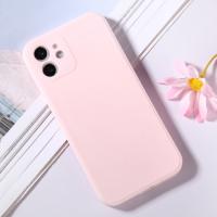Capinha iPhone 12 Silicone Rosa