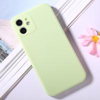 Capinha iPhone 12 Silicone Verde