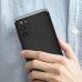 Capa Samsung S20 FE em 3 Partes Preto-Prata