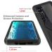 Capa Motorola Edge TPU e Plástico Roxo