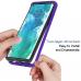 Capa para Motorola Edge+ Plus TPU e Plástico Azul