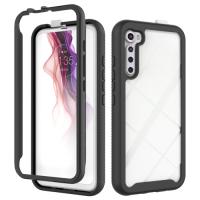 Capa Motorola One Fusion Plus TPU e Plástico Preto