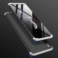 Capa Huawei P30 Lite Cobertura Completa das Bordas Preto-Cinza