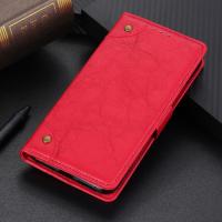 Capa Celular LG K12+ Plus Flip Couro Vermelho