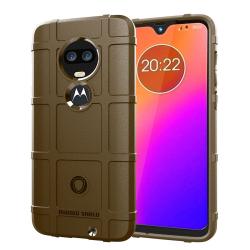 Capa Motorola Moto G7 Plus Shield Series Marrom