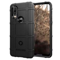 Capa Motorola One Vision Shield Series Preto