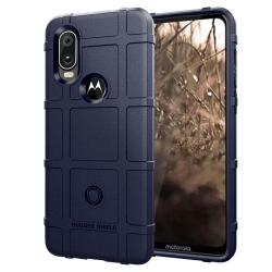 Capa Motorola One Vision Shield Series Azul Marinho