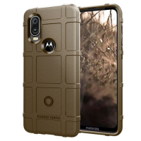 Capa Motorola One Vision Shield Series Marrom