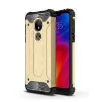 Capa Motorola Moto G7 Power Armor Series Dourado