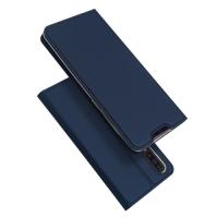 Capa Samsung A70 Flip Azul