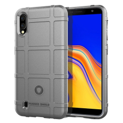 Capa Samsung Galaxy A10 TPU Antichoque Cinza