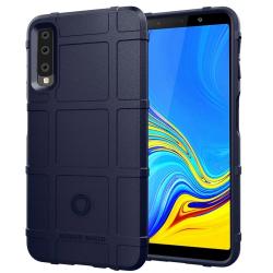 Capa Galaxy A7 2018 Antichoque - Azul Marinho