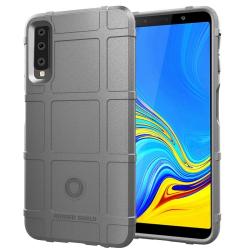 Capa Samsung A7 2018 Antichoque - Cinza