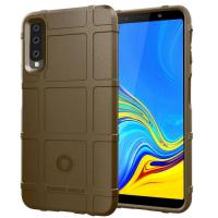 Capa Samsung A7 2018 Antichoque - Marrom