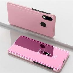 Capa Flip Clear View Samsung Galaxy M20 - Rosê