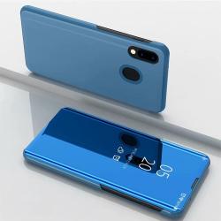 Capa Flip Clear View Samsung Galaxy M20 - Azul