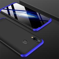 Capa Galaxy M20 Cobertura Completa das Bordas Preto-Azul