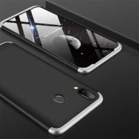 Capa Galaxy M20 Cobertura Completa das Bordas Preto-Cinza