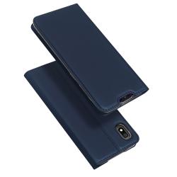 Capa Samsung A10 Skin Pro Series Flip Azul