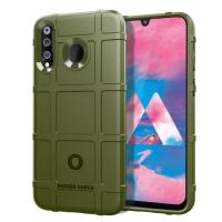 Capa Samsung Galaxy M30 Shield Series Verde