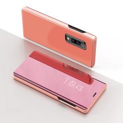 Capa Samsung Galaxy A7 2018 Flip Clear View - Rosê