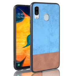 Capa Samsung A20 TPU e Plástico Azul