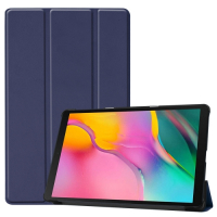 Capa Smart Samsung Tab A 10.1 2019 Couro Azul
