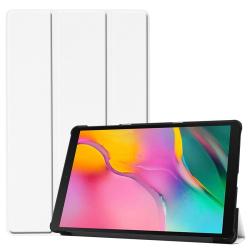 Capa Smart Samsung Tab A 10.1 2019 Couro Branco