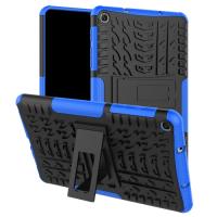 Capa Samsung Tab A com S Pen 2019 SM-P205 Emborrachado Antichoque Azul