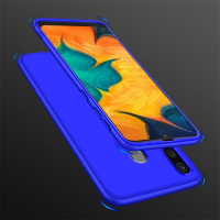 Capa Samsung A30 Cobertura Completa da Bordas Azul