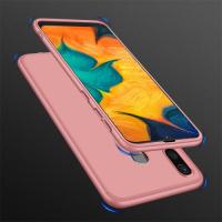 Capa Samsung A20 Cobertura Completa das Bordas Rosa