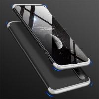 Capa Celular Samsung A50 Cobertura Completa das Bordas Preto-Cinza