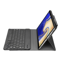 Capa e Teclado Bluetooth Samsung Tab S5e Preto