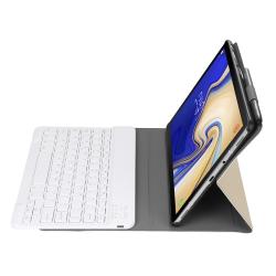 Capa e Teclado Bluetooth Samsung Tab S5e Dourado