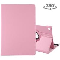 Capa Samsung Tab S5e Couro 360º Rotação Rosa