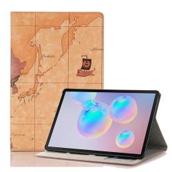 Capa Galaxy Tab S6 T865 Modelo Mapa
