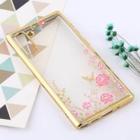 Capa Galaxy Note 10 TPU Flores Dourado