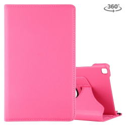 Capa Galaxy Tab A 8.0 2019 T290/T295 Couro 360 Rosa
