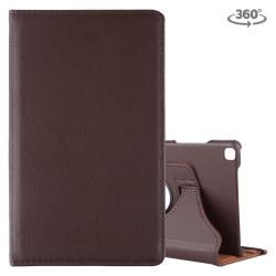 Capa Galaxy Tab A 8.0 2019 T290/T295 Couro 360 Marrom