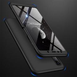 Capa Samsung A7 2018 Cobertura Completa das Bordas - Preto