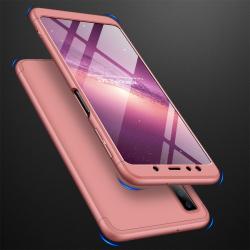 Capa Samsung A7 2018 Cobertura Completa das Bordas - Rosê