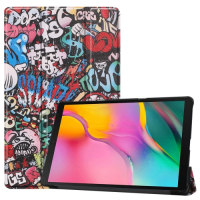 Capa Smart Galaxy Tab A 10.1 2019 Grafiti