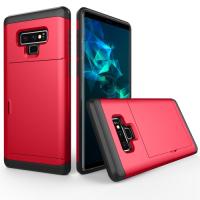 Capa Samsung Galaxy Note 9 Antichoque Vermelho