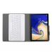Capa e Teclado Bluetooth Samsung Tab A 10.5 T595 2018 - Dourado