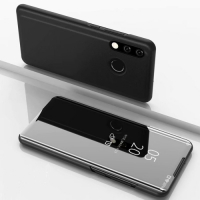 Capa Huawei P30 Lite Flip Espelhado Preto