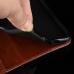 Capa para Motorola Edge+ Plus Couro Preto